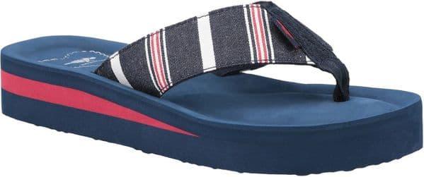 Rocket Dog Winner Elgin Sandal Ladies Summer Blue